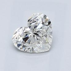 Recommended Stone #1: 0.90-Carat Heart Cut Diamond