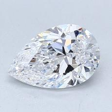Current Stone: 1.07-Carat Pear Shaped