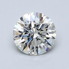 1.20 Carat 圆形 Diamond 理想 H VS2