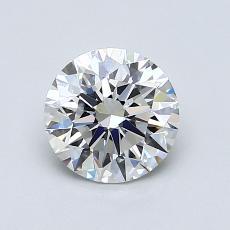 1.02 Carat 圆形 Diamond 理想 F VS1