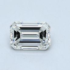 1.00 Carat 绿宝石 Diamond 非常好 I VVS2