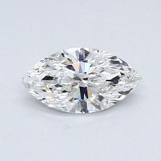 Recommended Stone #4: 0.49-Carat Marquise Cut Diamond