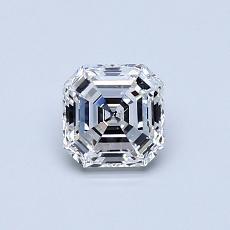 Piedra recomendada 3: Diamante de talla Asscher de 0.60 quilates