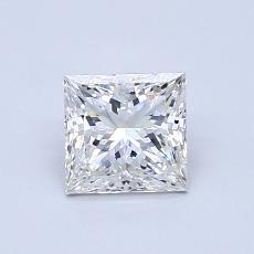 推荐宝石 3:0.83 克拉公主方形钻石
