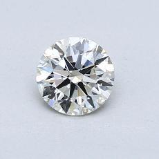 推薦鑽石 #4: 0.57 克拉圓形切割鑽石
