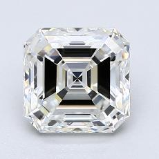 1.98-Carat Asscher Diamond Very Good F VS2