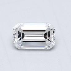 Recommended Stone #2: 0.51-Carat Emerald Cut Diamond
