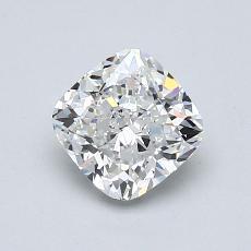 1.07 Carat クッション Diamond ベリーグッド G VVS2