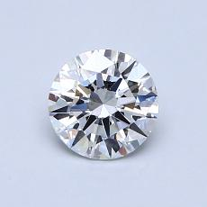 0.70-Carat Round Diamond Ideal D VS1