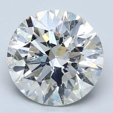Recommended Stone #2: 3.10-Carat Round Cut Diamond