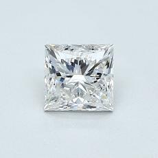 0.70-Carat Princess Diamond Very Good E VS1