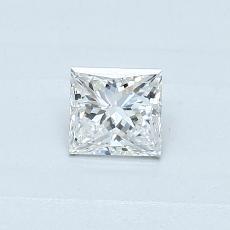推荐宝石 4:0.30 克拉公主方形钻石