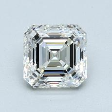 推薦鑽石 #3: 1.12  克拉上丁方形鑽石