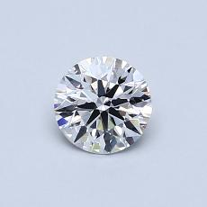 Recommended Stone #2: 0.52-Carat Round Cut Diamond