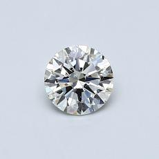 0,40-Carat Round Diamond Ideal K SI1
