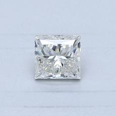 Recommended Stone #3: 0.42-Carat Princess Cut Diamond