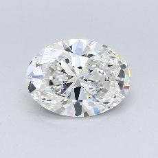 Recommended Stone #4: 2.10-Carat Oval Cut Diamond