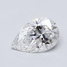 Pierre recommandée n°3: Diamant taille poire 0,76carats