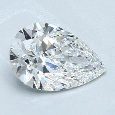 Pierre recommandée n°3: Diamant taille poire 1,12carats