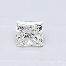 推荐宝石 3:0.37 克拉公主方形钻石