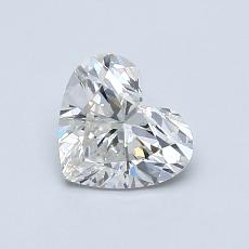 Recommended Stone #3: 0.70-Carat Heart Cut Diamond