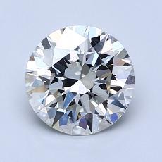 1.53 Carat 圓形 Diamond 理想 J VS2