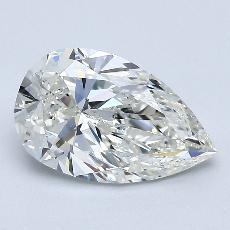 Target Stone: 1.70-Carat Pear Cut Diamond