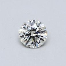 目标宝石:0.33克拉圆形切割钻石