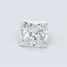 0.41-Carat Princess Diamond Very Good G SI2
