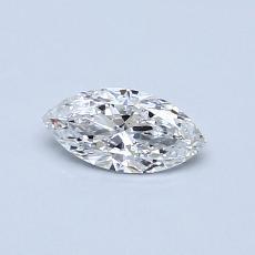 Pierre recommandée n°4: Diamant taille princesse 0,32 carat