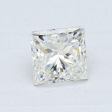 0.70-Carat Princess Diamond Very Good I VS1