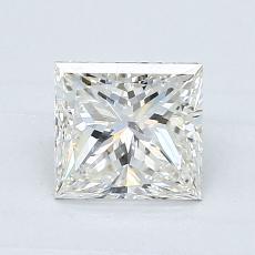 1.00 Carat 公主方形 Diamond 非常好 I VS2