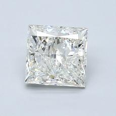 1,20-Carat Princess Diamond Very Good I VS1