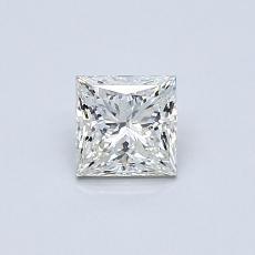 推荐宝石 3:0.51 克拉公主方形钻石