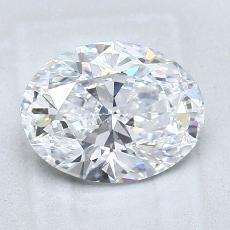 2.01 Carat 橢圓形 Diamond 非常好 D VS2