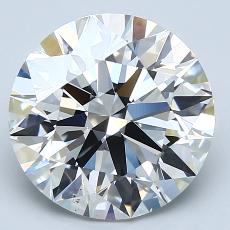 Recommended Stone #1: 4.01-Carat Round Cut Diamond