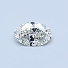 Recommended Stone #1: 0.32-Carat Oval Cut Diamond