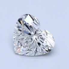 1.01 Carat 心形 Diamond 非常好 E SI2