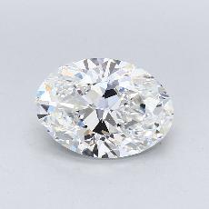 3.01 Carat 椭圆形 Diamond 非常好 F IF