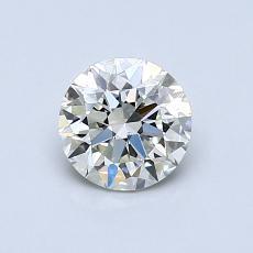0.72-Carat Round Diamond Very Good K SI2