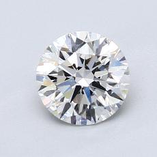 1,06-Carat Round Diamond Ideal G VS2