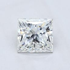 1,03-Carat Princess Diamond ASTOR G VVS2