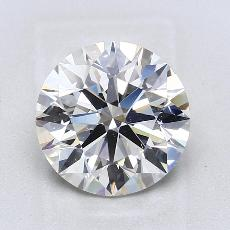 3.01-Carat Round Diamond Ideal I VS1