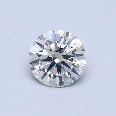 0.56 Carat Redondo Diamond Ideal I SI2