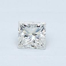 0.40-Carat Princess Diamond Very Good G VS2
