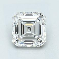 オススメの石No.2:1.50カラットアッシャーカットダイヤモンド