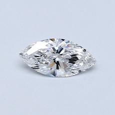 Pierre recommandée n°4: Diamant taille princesse 0,30 carat