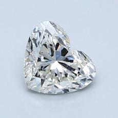 Recommended Stone #3: 1.10-Carat Heart Cut Diamond