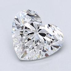 Recommended Stone #4: 1.80-Carat Heart Cut Diamond