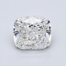 1.21-Carat Cushion Diamond Very Good D VS2